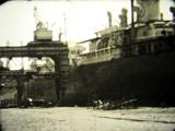 Réparation du Esso Cambridge, 1955-56