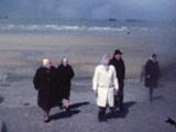 Voyage au Mont Saint Michel, 1975