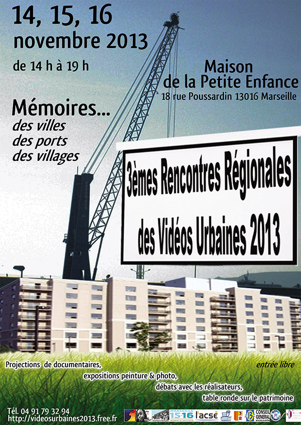 affiche rencontres videos urbaines